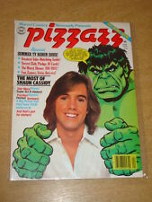PIZZAZZ #9 1978 JUNE VF MARVEL US MAGAZINE HULK DAVID CASSIDY STAR WARS
