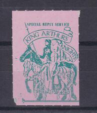 1971 posta Strike King Arthurs CAVALIERI Special servizio di risposta verde su Francobollo Rosa
