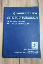 Reparaturhandbuch Wartburg Typ 353 W + 2. Auflage 1980 + Original + 216 Seiten