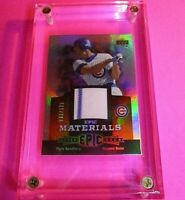 2006 Upper Deck UD Epic Materials Orange #RS2 Ryne Sandberg /125 Jersey CUBS