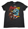 Marvel Comics Avengers Endgame Thanos Gray Graphic T-Shirt Men's Size Large New