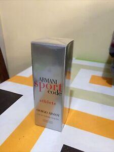 ARMANI SPORT CODE ATHLETE EDtoilette FRAICHE 75 ML/Spray 💯%Originale Autenthic*