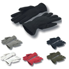 Ladies Men's Atlantis Twin Fleece Gloves Warm Winter Gloves