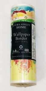 1 New Roll of Laura Ashley Home Nursery Wallpaper Border ROW YOUR BOAT nwt
