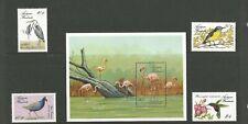Antigua and Barbuda Sea Birds   MNH stamps(4) and ms