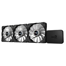 Aerocool Project 7 P7 F12 (120mm) RGB Fans (Triple Pack) with P7H1 PWM Hub