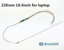 5set 220mm  laptop led backlight strip kit,Update 10.4inch lcd laptop to led