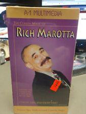 Vhs Rich Marotta Volume 2 Walk Around Comedy Magic Video Tape