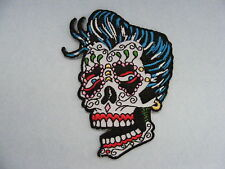 Rockabilly sugar skull patch
