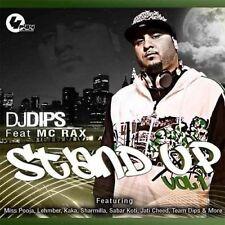 DJ DIPS FEAT MC RAX STAND UP VOL 1 - NEW UK BHANGRA CD FREE UK POST