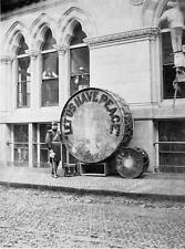 Photo. 1872.  Boston, MA.  Peace Jubilee - Let Us Have Peace Drum