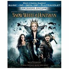 Snow White and the Huntsman (Blu-ray Disc, 2012)** New Factory Sealed