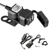 Presa per Adattatore di Alimentazione per Caricabatterie Dual-USB per Moto U8A8