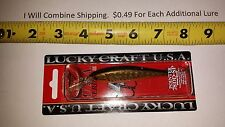 "Lucky Craft Pointer 78DD-SP Suspending Jerkbait 3"" 3/8oz Red Musky"
