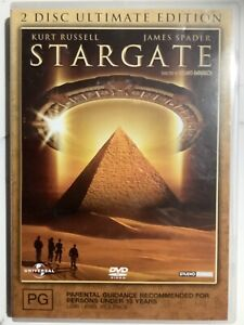 STARGATE - DVD Region 4 - Kurt Russell James Spacer / 2-Disc Ultimate Edition