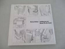 Architect Richard Meier Building for Art Abstract Artist Geometric Design 1990