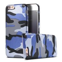 IPHONE 6 7 8 PLUS Slim CAMO Case Rigid Skin Cover ARMY Design Camouflage Apple