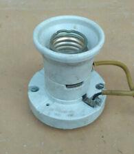 Ceramic Lamp Light Holder Lampholder base Vintage E40