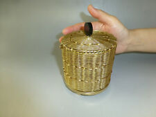 Rare Antique Swiss Music Box With Gold Gilt Wire Strung Case (Watch The Video)