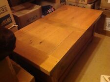 John Lewis Solid Oak Storage Coffee Table / Chest