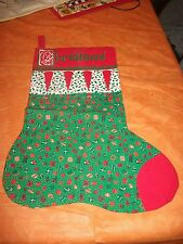 Stocking, Large,Handmade, Great decoration or filling!  Even pets, dog, cat