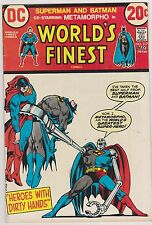 World's Finest #217 with Superman & Batman, Very Fine - Near Mint Condition*