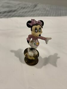 Vintage Minnie Mouse Disney Spring Figurine Toy