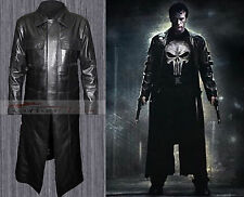 The Punisher Thomas Jane Frank Castle Trench Leather Coat