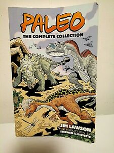 PALEO: COMICS:  COMPLETE COLLECTION (DOVER GRAPHIC NOVELS) By Jim Lawson