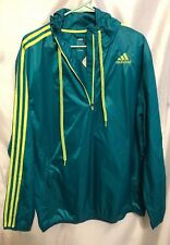 Authentic Adidas Jacket , Ultimate Half Zip Wind Jacket Sz XL