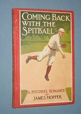 1914  *  COMING BACK WITH THE SPITBALL  *  early baseball fiction
