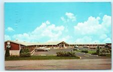 *1967 Fairlane Motel Perrysburg Ohio Old Cars Vintage Postcard A60