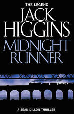 """VERY GOOD"" Midnight Runner (Sean Dillon Series, Book 10), Higgins, Jack, Book"