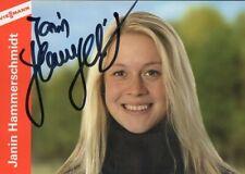 Autogramm - Janin Hammerschmidt (Biathlon)