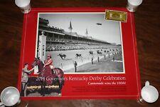 RARE! Governor's Commemorative Derby Poster Cannonade 1974 100th Anniversary