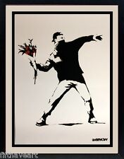 Bansky Art  Print Highest Quality Custom Framing