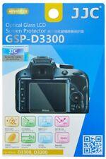 JJC GSP-D3300 Screen Protector Displayschutzglas für Nikon D3300 & D3200 & D3400