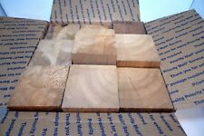 Wood Display Cedar Blocks Multiple Size 4 Inch Square Various Heights Lot 15 Lot