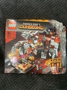 21163 LEGO Minecraft The Redstone Battle Construction Set 504 Pieces