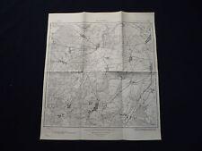 Landkarte Meßtischblatt 3850 Kossenblatt, Görsdorf, Ahrensdorf, Briescht, 1938