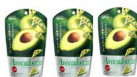 Glico AVOCADOOZA Avocado Cheesy crackers Japanese Candy snack 40g × 3pcs