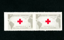 Dominica Stamps # C129 XF OG NH Imperf Between Pair