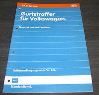 VW Passat 35i Gurtstraffer  Selbststudienprogramm  SSP 122 Stand 04/1990