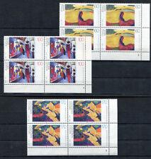 Bund 1617 - 1619 Formnummer postfrisch Eckrand Viererblock FN Ecke 4 VB 1992 MNH