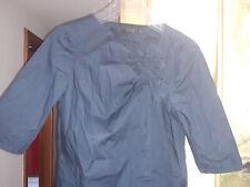 Schickes Kleid (Kittelkleid) von COS dunkelblau, Gr. 34