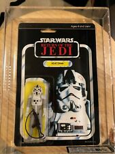 Star Wars AT-AT Driver Palitoy ROTJ 65D MOC UKG 85 Standard Bubble Case Fresh