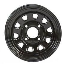 2-ITP Delta Black Steel Wheel Front Suzuki 05-14 450/700/750 King Quad 371363