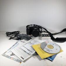 NIKON Coolpix L120 14.1 mp Digital Camera 21x Zoom Bundle