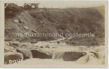 Sheffield, Rivelin 1904 Real Photo Postcard, C017