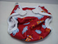 Bummis Super Whisper Wrap Diaper Cover Red Rockets Small